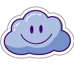 Sticker Cloudy