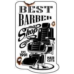 Sticker Best Barber